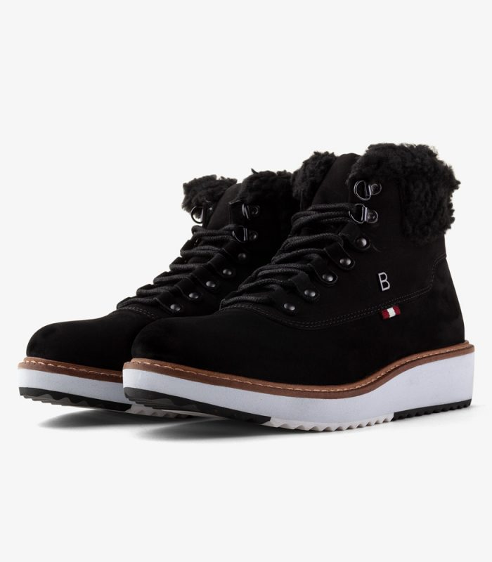 Bota con corderoy HIKER Boating Mujer