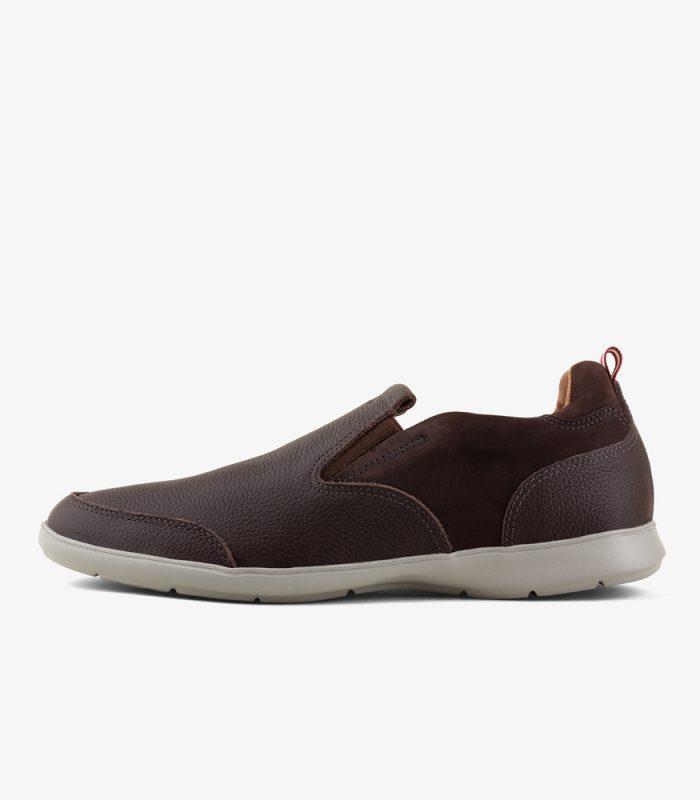 Zapato Mocasín Boating con elásticos laterales WALK