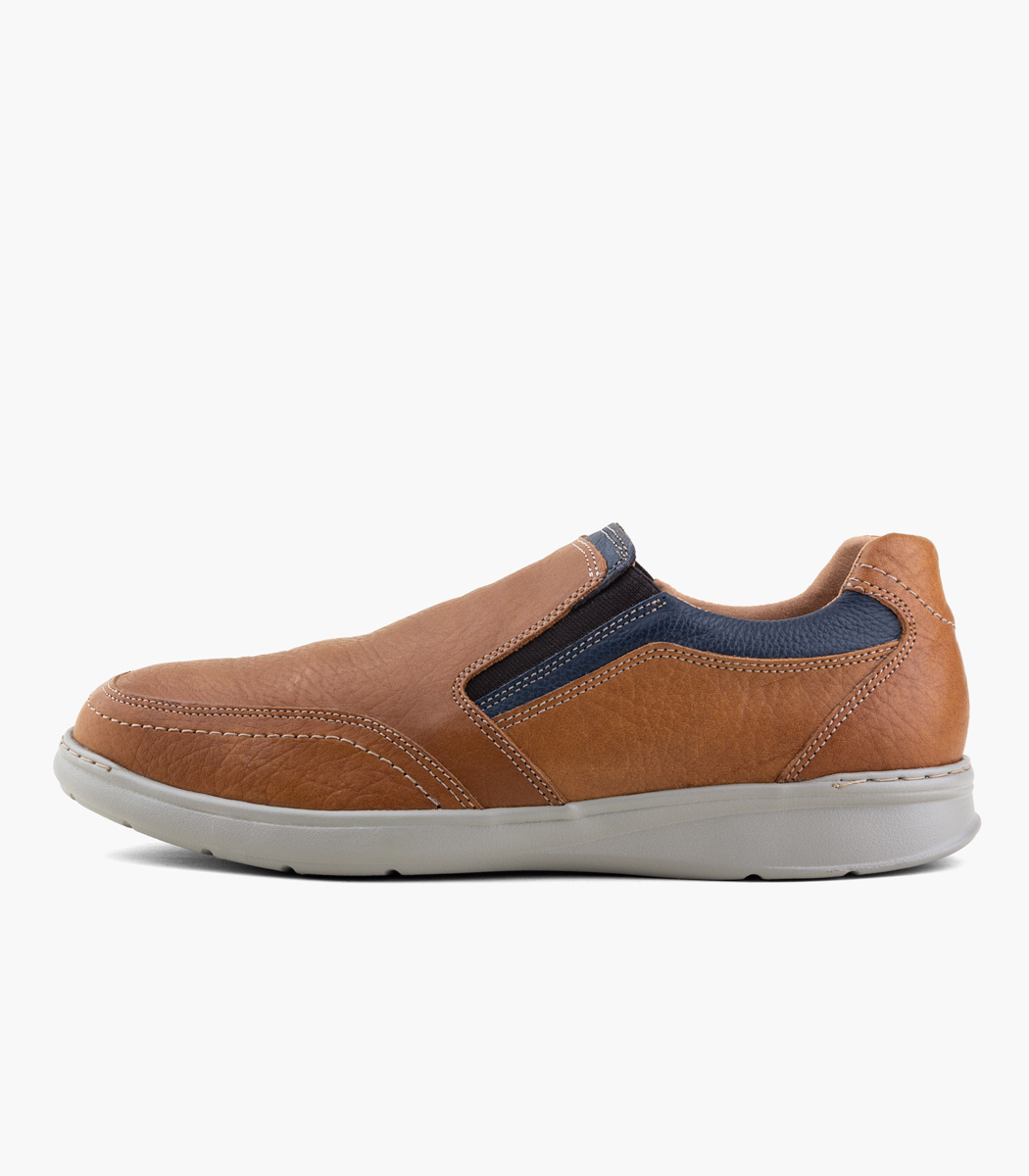 Zapato mocasín con elástico BOATING Cushion Hombre