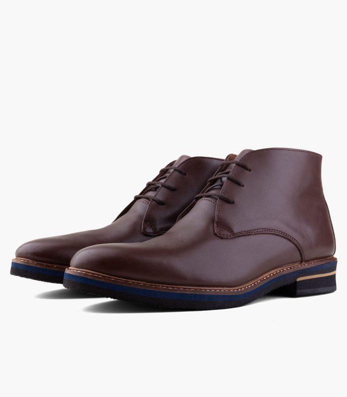 Zapato Bota de cuero BOATING New Debonair