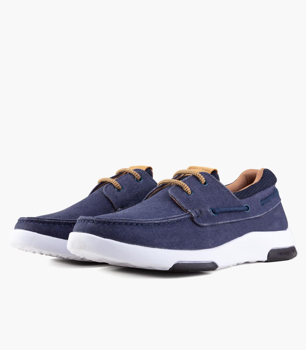 Zapato náutico azul Hombre BOATING Edge