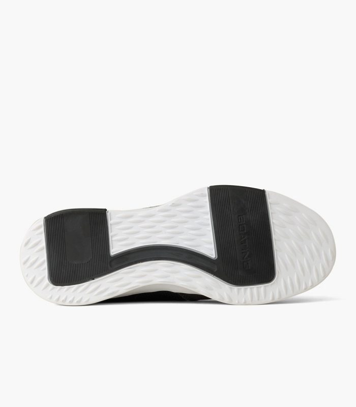 Zapato Náutico de tela Boating Edge Negro
